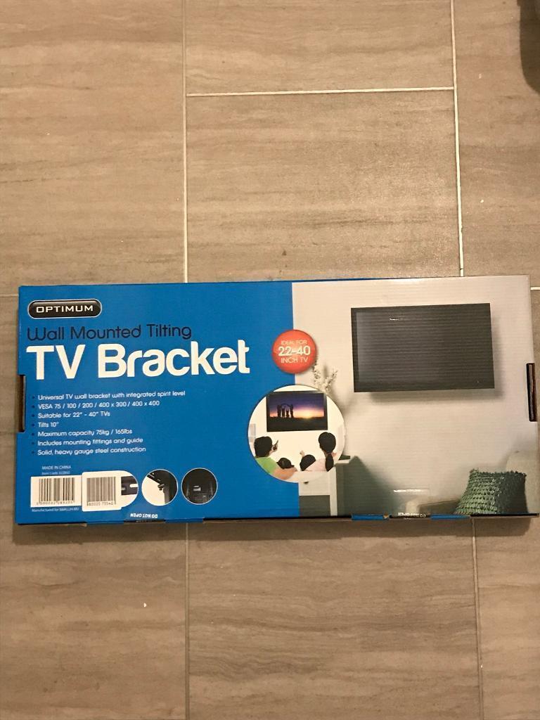 "Universal 22"" - 40"" tv wall bracket"