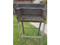 Barbeque made out of solid stainless steel