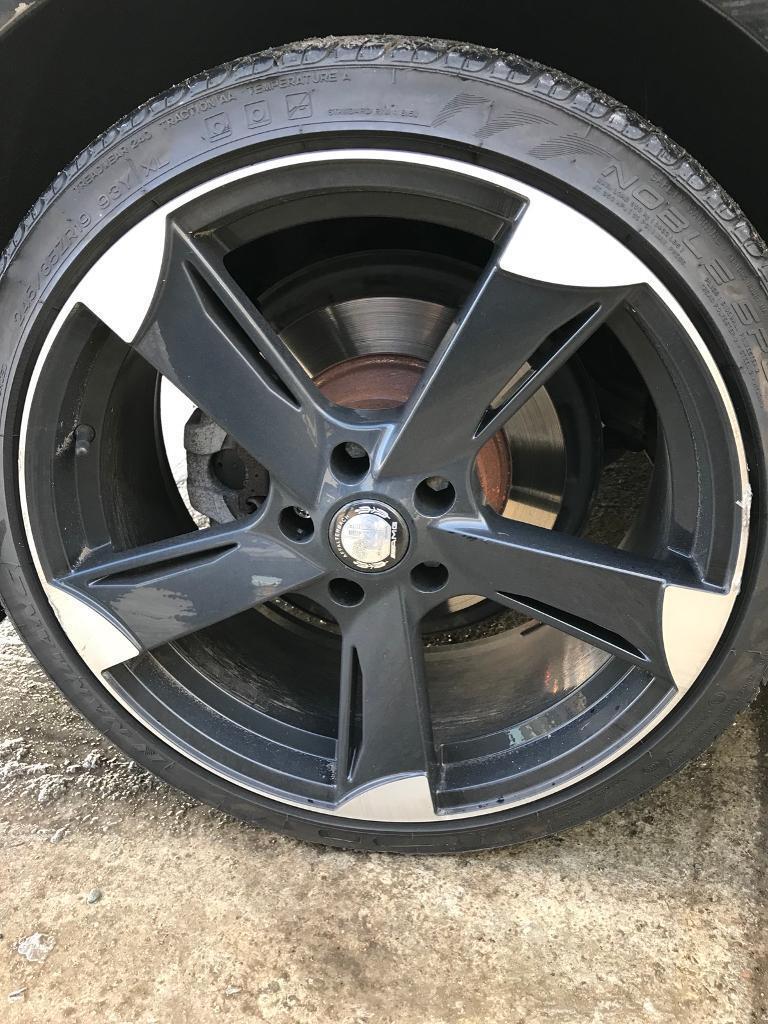 """19"""" Alloy Wheels. Came off a Mercedes E class"""