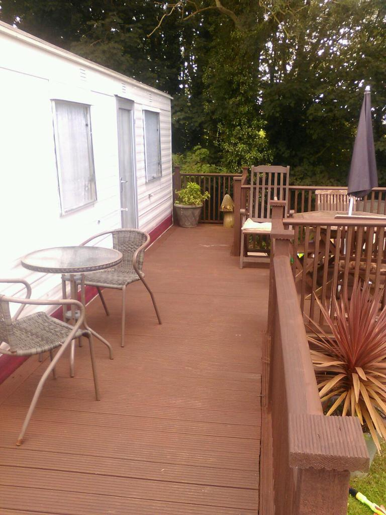 Model STATIC CARAVAN FOR SALE SITED ON PENYWERN HOLIDAY HOME PARK Near