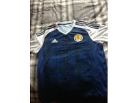 Scotland home shirt 16/17 made by adidas in new condition £10 to clear thanks