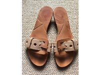 Ted Baker leather Mule sandals size UK6/EU39