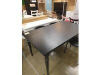 INGATORP Extendable table, black 155/215x87 cm, IKEA MILTON KEYNES #bargaincorner