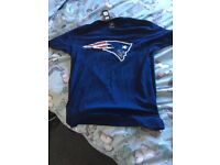 New England Patriots T shirts brand new still with tags on. Size large. £12 each