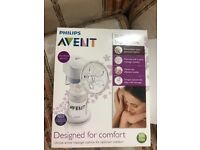 Avent electric breast pump in box very clean condition