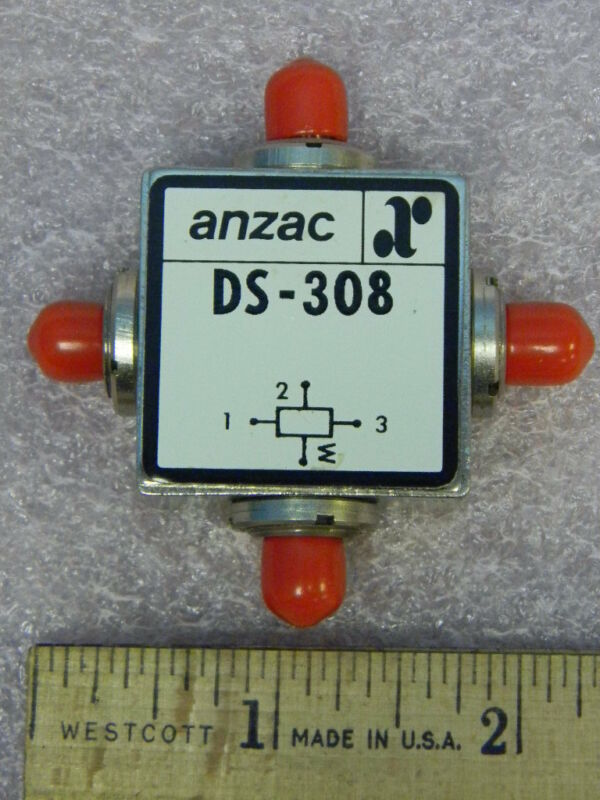 NEW Anzac DS-308 SMA(f) RF 3-Way Power Divider 1-300 MHz