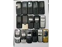 Brand New Nokia 105-108-1112-1200--6230-6300-2730-E1200Y-Zanco Unlocked Open To All Networks