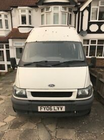 Ford transit. Starts first time every time, trusty workhorse