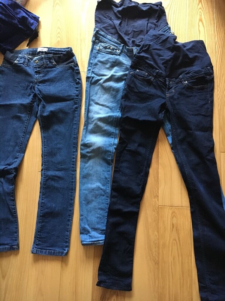 Maternity clothes and swim wear and dreamgeniiin East Dulwich, LondonGumtree - Maternity clothes (8 items) Seraphine swim suit size S in black. H&M mama slim jeans size EUR 36 in dark blue. H&M mama Slim jeans size EUR 38 in light blue. Seraphine slim jeans size 0. H&M tank top size EUR XS in white and in black. H&M mama long...