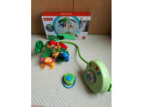 Fisher price rainforest cot mobile (£15)