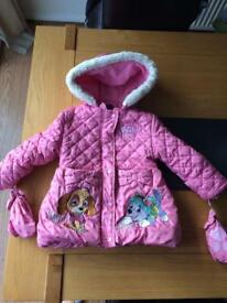 Paw patrol winter jacket and tracksuits etc 2-3 years