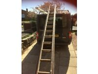 Wooden Ladder Set, very good condition.