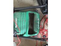 Qualcast electric lawn mower