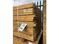 🌞 EASY EDGE WOODEN RAILS/ LENGTHS > NEW > 4 X 2 X 4.8M