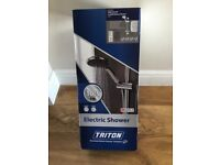 Triton T80Z Fast-Fit 10.5kW Electric Shower White Brand New in Box