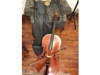Half size cello