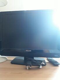Philips plasma TV 24 inch 2x HDMI, excellent condition