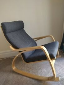 Modering rocking chair, excellent condition