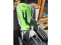 Toddler bike seat attachement