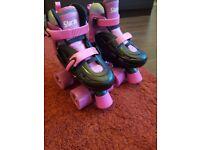 SFR kids Quad Adjustable Roller Skates Size 8-11