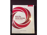 Third Edition English Legal System By Jo Ann Boylan-Kemp