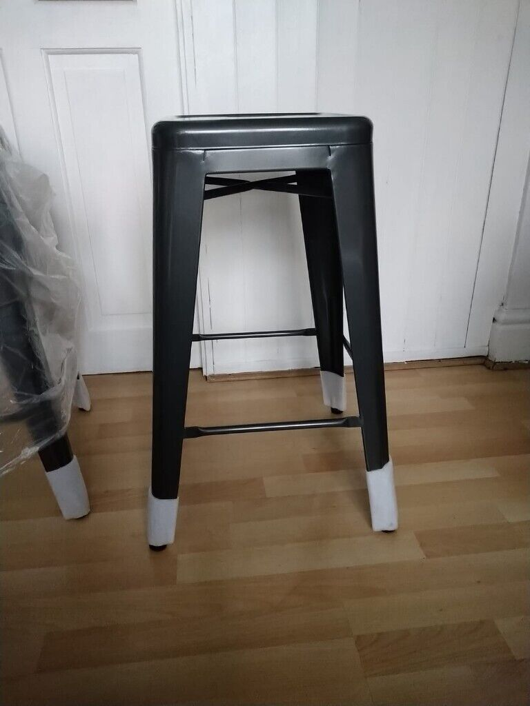 Fantastic Dunelm Dyce Set Of 4 Bar Stools Kitchen Breakfast Bar Stool Rrp 200 Grey Or Black In Burnage Manchester Gumtree Caraccident5 Cool Chair Designs And Ideas Caraccident5Info