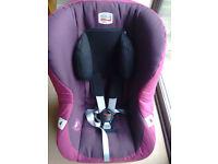 Britax Eclipse Forward Facing Group 1 Car Seat (DARK GRAPE) + Britax Head Support