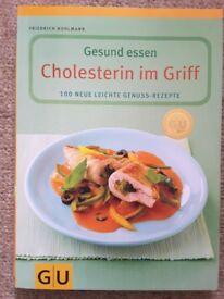 GU Gesund essen - 2 German books