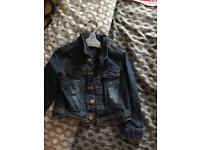 Children's denim jacket