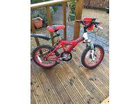 Child's Bike Raleigh Race MX16 BMX