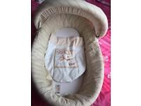 Mamas and papas Moses basket £15