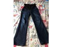 Size 10 over the bump maternity jeans