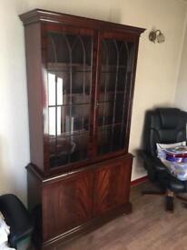 Antique Decanter Cabinet