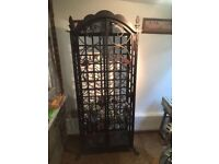 Beautiful hand crafted wine rack