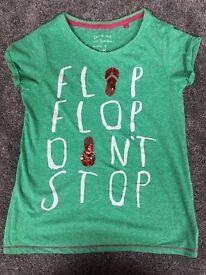 NEXT Flip flop don't stop t-shirt