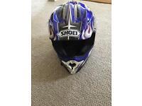 Shoei off roading helmet