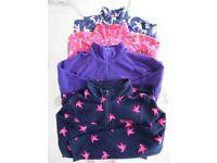 4 x Girls fleeces Age 9-10