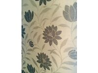High end fabric roller blind / John Lewis type in excellent condition