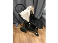 Bugaboo Cameleon 3 Black Pushchair - Stroller, Cot Cabin & Maxi Cosy Car Seat