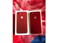 Apple iPhone 7 128gb red on EE