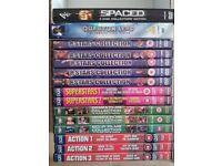 x2 DVDs Boxsets,x13 DVDs Boxsets of 4