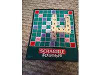 Scrabble Scramble Game