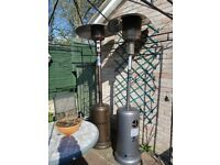 2 Gas Patio Heaters