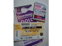 **3 day luxury camping CREAMFIELDS ticket for sale £300 ONO***
