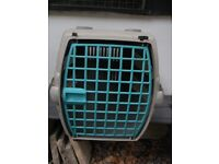 Carrying crate for cat or small dog (eg Jack Russell size)