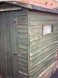 FREE 6x4 FEATHERBOARD GARDEN SHED