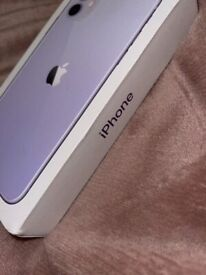 iPhone 11 purple lilac as new