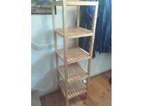 Ikea Molger wooden shelving unit (bathroom or beyond) £18