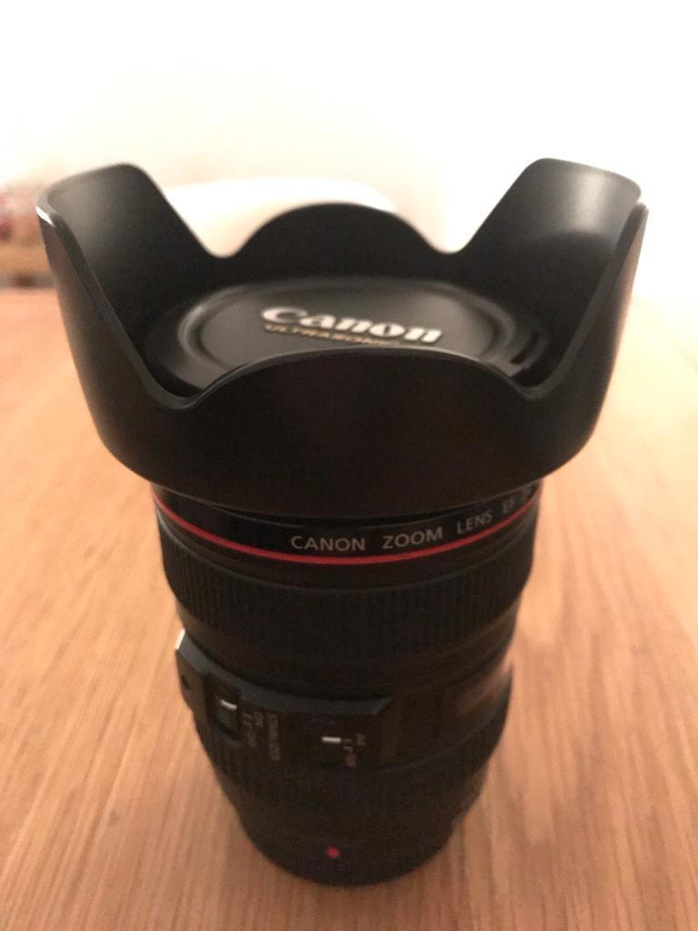 Canon L-Series 24-105 IS Zoom Lens