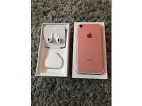 iPhone 7 128gb rose gold, perfect condition